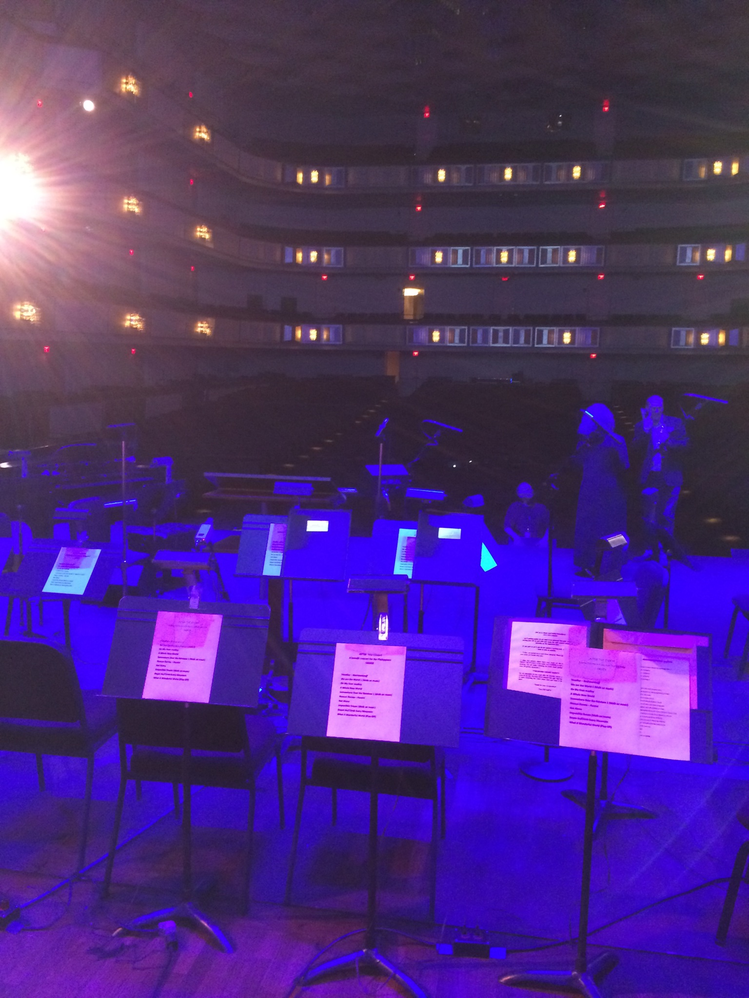 View From Lincoln Center Stage