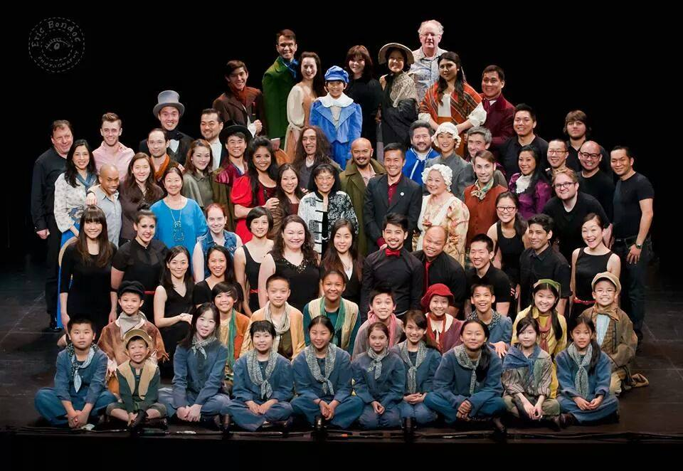 NAAP Cast and Crew of Oliver